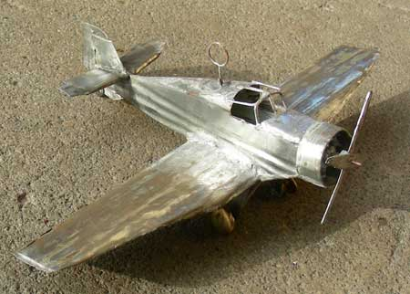 tin-plane Made by Dr. Scheibe